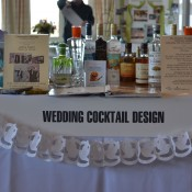 Our table at the 10th annual Newport Wedding Expo